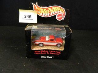 Hot Wheels Sam Walton 1979 Ford