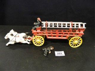 Horse Drawn Fire Wagon  Vintage