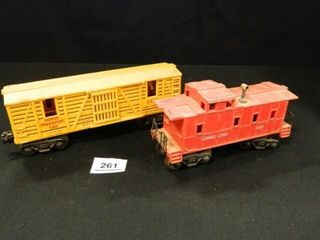lionel Caboose  Horse Train Car