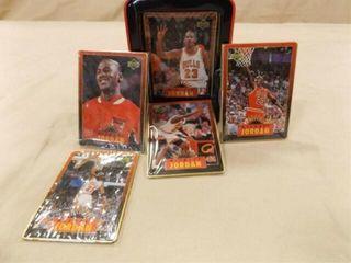 1996 Michael Jordan Metal Collector Cards