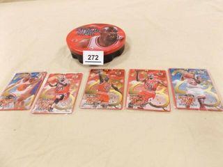 1998 Michael Jordan Metal Collector Cards