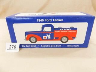 1994 Spec Cast Citgo Ford Tanker Metal Bank