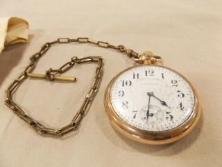 Pocket Watch  South Bend  with Chain
