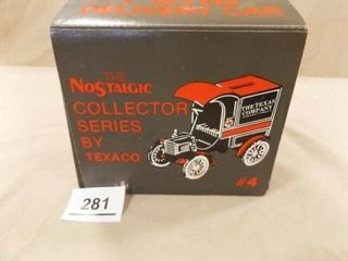 Texaco Ford Delivery Car Metal Bank