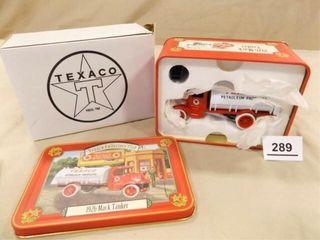 Texaco Mack Tanker Metal Truck