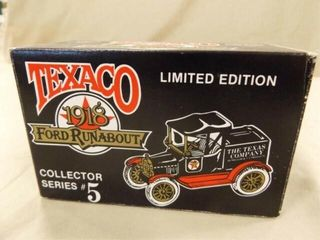1988 Texaco Ford Runabout Metal Bank
