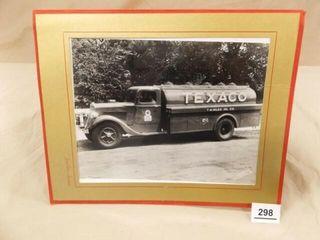 Texaco Truck Photo in Folder