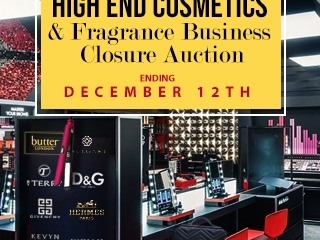 Online Only: Boutique Beauty Store Closure Auction