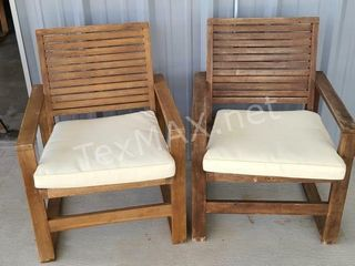2 Safavieh Chairs with Cushions