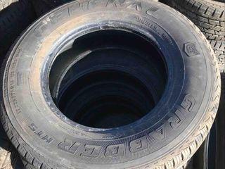 New 1 Tire LT225/75R16 General Grabber HTS