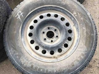 Used Set Of 2 Tires 245/70R17