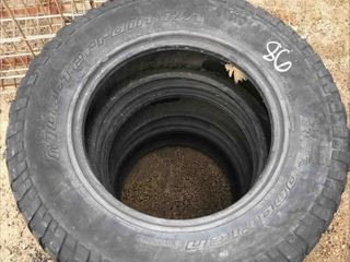 Used Set Of 3 Tires LT255/75R17
