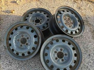 Used Set Of 4 17 Inch Rims