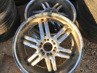 Used Set Of 24 Inch Rims