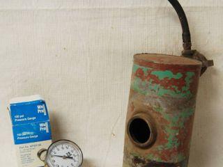 100 PSI Pressure Gage   Gas Tank  see Photo
