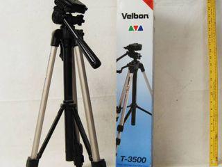 Camera   Video Tripod   Brand Velbon T 3500 with original box