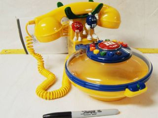 Vintage M M Candy Dish Telephone  Snack and Talk