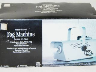Water Based  Fog Machine  Great For Halloween  With Box and Instructions