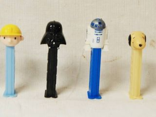 lot of 6 PEZ Candy Dispensers  Cinderella  Bob The Builder   2  Star Wars  Nemo  and A Dog