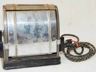 Vintage Toaster  Miracle label  Toasters Drop Down Side Open