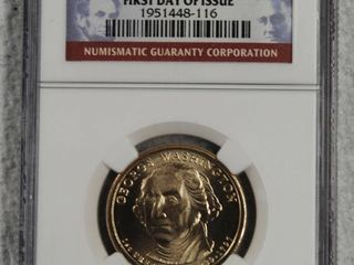 2007 D  1 First President George Washington  In Case