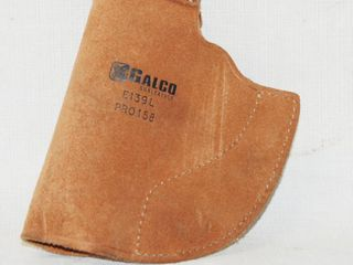 Brown leather Holster Holder  Galco E139l PRO158