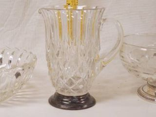 lot of Retro Vintage Glassware   Pitcher and Bowls