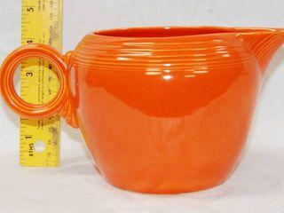Fiesta Ware Orange Creamer