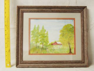Farm Framed Art Wall Picture