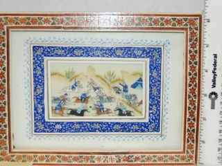 Beautiful Framed Painting    Original Persian Painting  very unique  MUST SEE
