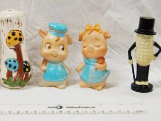 lot of 3 Sets of Very Cool Collectable Salt and Pepper Shakers