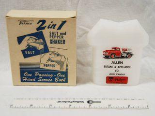 Vernco Salt and Pepper Shaker  with Original Box