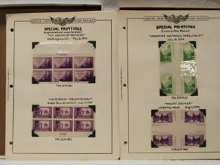 Vintage Collectible Post Stamps