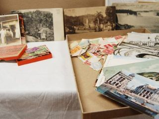 Vintage Post Cards and Post Stamps