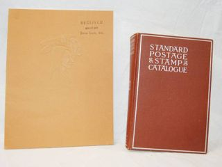 Standard Postage   Stamp Catalogue and The Mid America All Indian Center  Wichita  Ks Book
