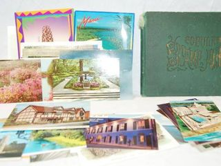 Book of Collectible Stamps and Post Cards