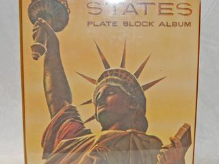 Album of  United States  Plate Block Album  Collectible Stamps