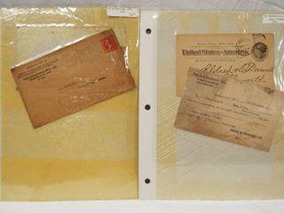 lot of 3 Vintage Post Cards  etc