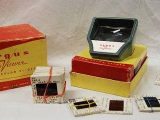 Vintage Argus Previewer  for Color Slides  with Original Box