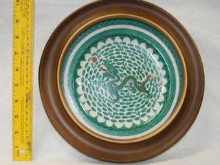 Beautiful Vintage Plate Wall Hanger