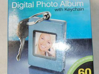 Digital Photo Album Key Chain   New in Box