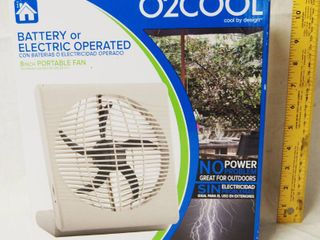 Portable Fan   Electric or Battery Operated   New in Original Box