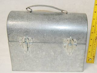 Galvanized Metal lunch Box   Storage Box with Handle   COOl
