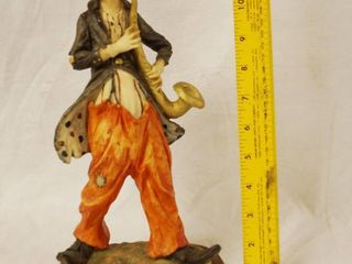 Nice Italian Clown Statue  highly collectible