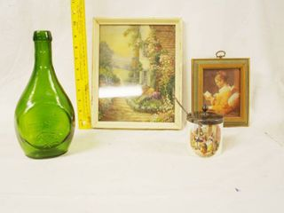 lot of Misc  Items   Bottle  Pictures and More   SANDlAND ENGlAND