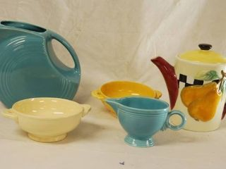 lot of Fiesta Ware and More