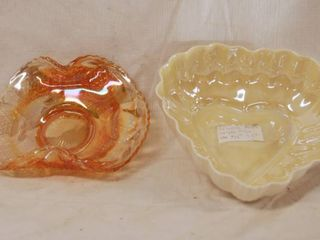 lot of 2 Gorgeous Small Dishes