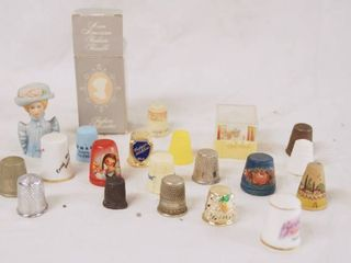 Thimble Collection   Many are VINTAGE  Very Cool and HTF