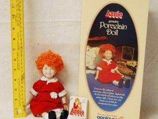Vintage Annie Porcelain Doll in Original Box