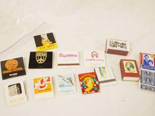 lot of Vintage Matchbooks